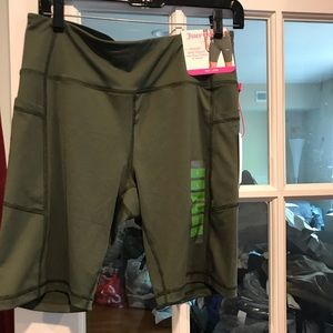 Juicy couture bike shorts